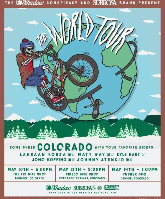The Shadow/ Subrosa World Tour hits Colorado!
