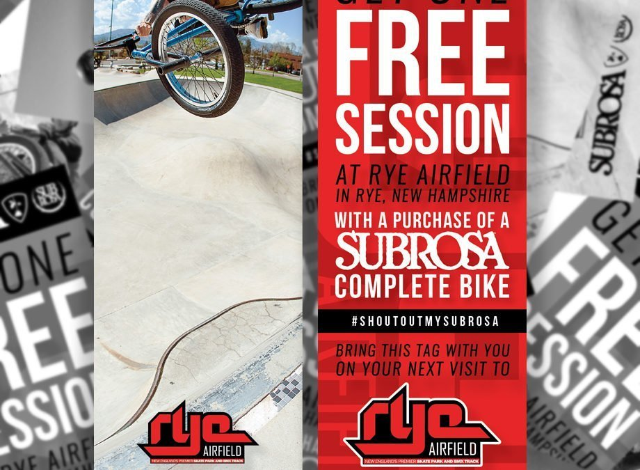 FREE SESSION AT RYE AIRFIELD!