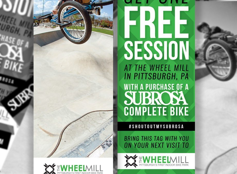 Free Session at The Wheel Mill!