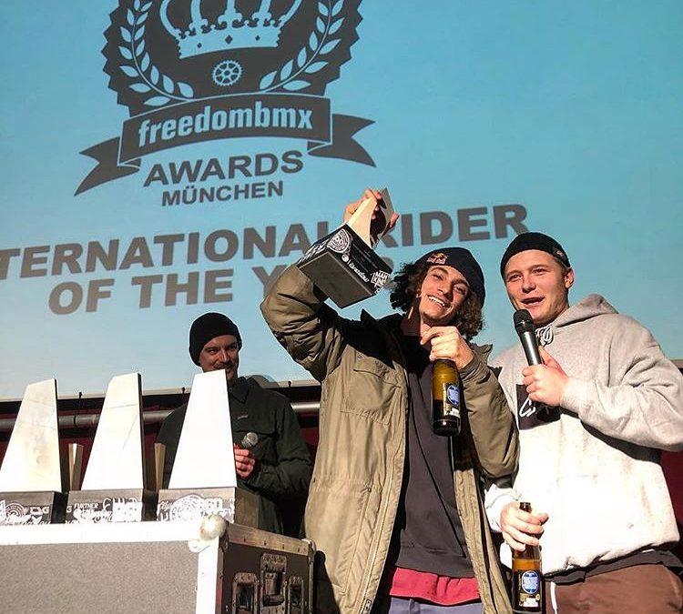 Simone Barraco wins Freedom BMX Award!