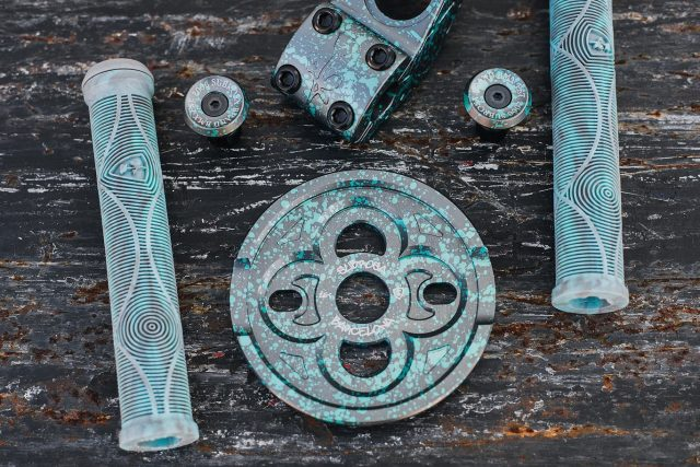 Teal Drip colorway available worldwide at Subrosa Dealers and sparkysbrands.com  #bmx #subrosa #subrosabrand #subrosasaves