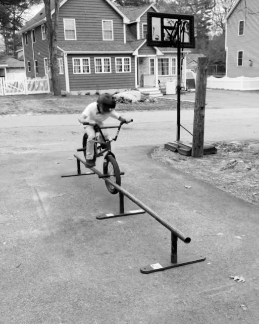 Subrosa rider @beast_marotta hits an Over Smith on his Subrosa Street Rail with Extension Kit and XS legs.  The proven #subrosastreetrail and accessories are available worldwide now at Subrosa Dealers and shop.subrosabrand.com  #bmx #subrosa #subrosabrand #subrosasaves #bmxrail #streetrail #portablerail #flatrail