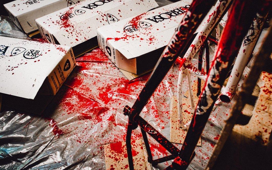 Blood Splattered Wild Child Frames!