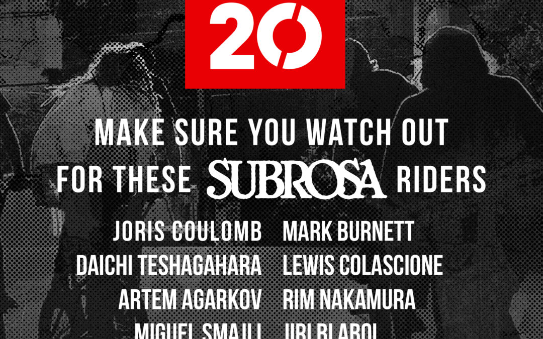 Subrosa riders at Simple Session!
